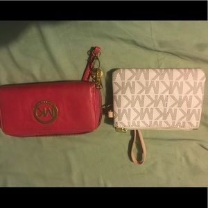 Mk wallet and wristlet